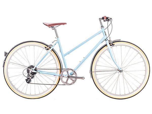 6KU Odessa City Bike 8 Speed Maryland Blue