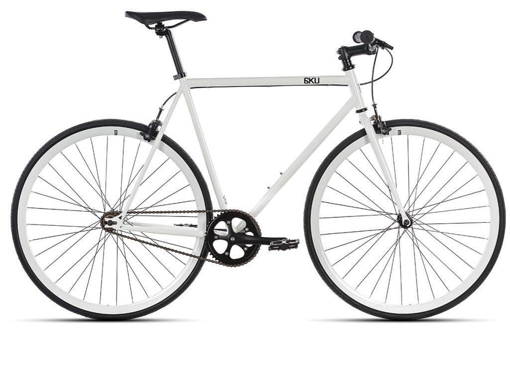 6KU Fixed Gear Bike - Evian 1
