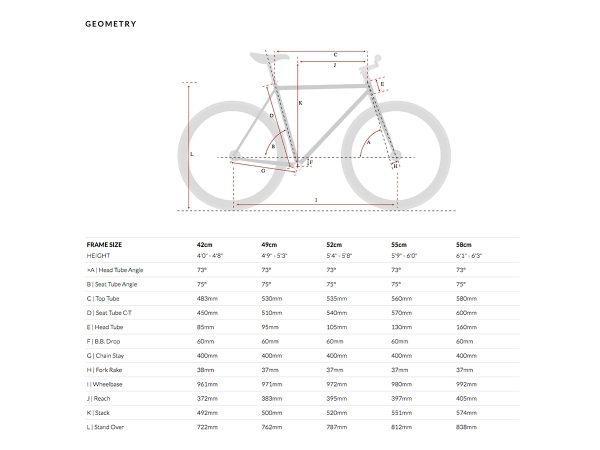 6KU Fixed Gear Bike - Iris-594