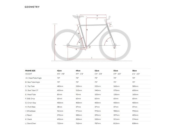 6KU Fixed Gear Bike - Nebula 1-608