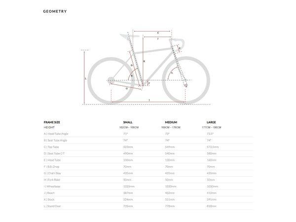 6KU Troy City Bike 16 Speed Windsor Blue-456