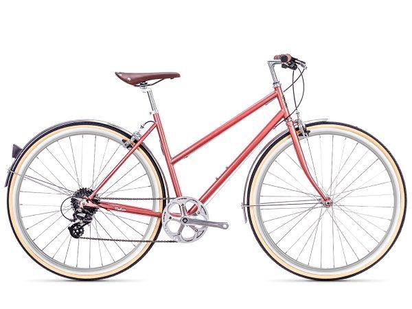 6KU Odessa City Bike 8 Speed Madison Gold