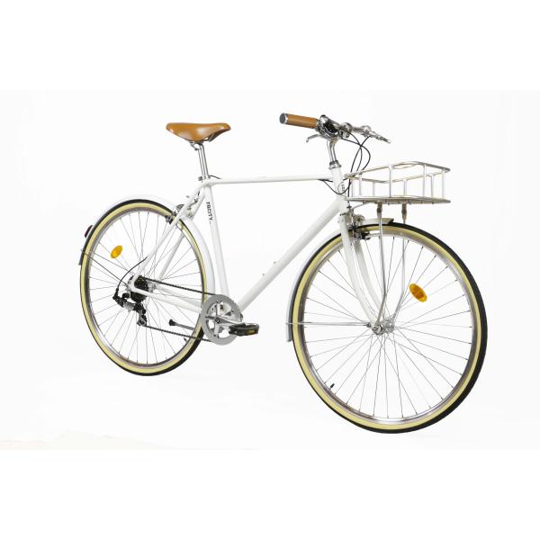 Fabric Bike City Bike Classic White-3107