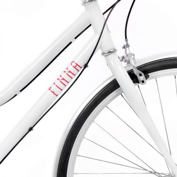 Finna Cycles Breeze City Bike 3 Speed Pearl White-2907