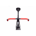 FabricBike Fixed Gear Bike – Matt Black / Pink-2866
