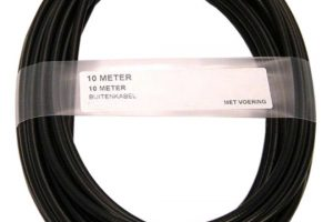 XLC Outer Cable 10M 5mm TEF ZW-0