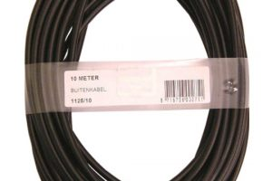 XLC Outer Cable 10M 5mm ZW1125-0