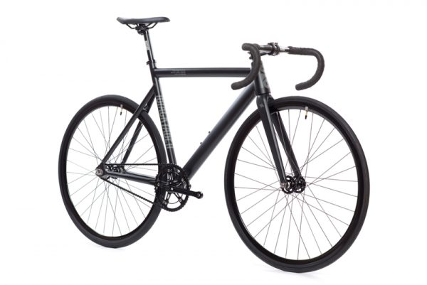 State Bicycle Co. Fixed Gear Bike Black Label V2 - Matte Black-5966