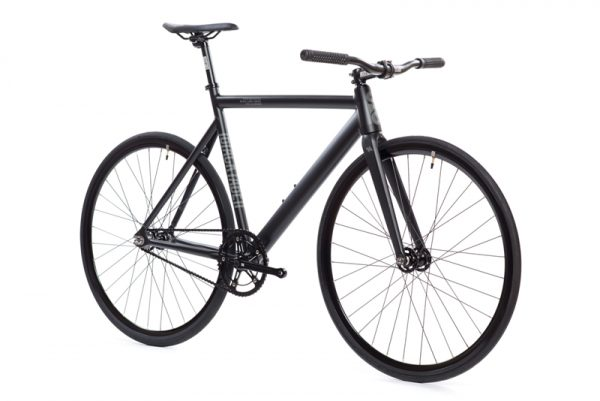 State Bicycle Co. Fixed Gear Bike Black Label V2 - Matte Black-5967