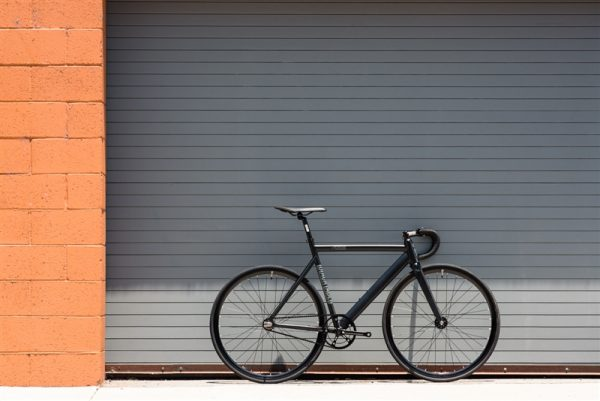 State Bicycle Co. Fixed Gear Bike Black Label V2 - Matte Black-5970