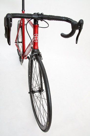 Unknown Fixed Gear Bike Paradigm Red-2016