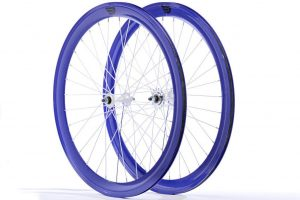 Pure Fix 50mm Wheelset - Blue-0