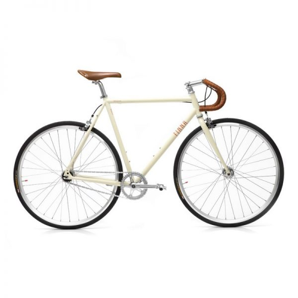 Finna Fixed Gear Bike Velodrome Vanilla Cream-0