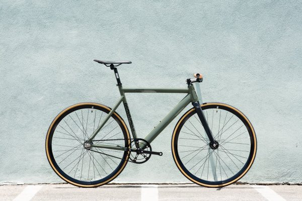 State Bicycle Co Fixed Gear Black Label v2 - Army Green-5940