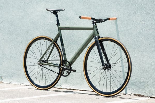State Bicycle Co Fixed Gear Black Label v2 - Army Green-5941