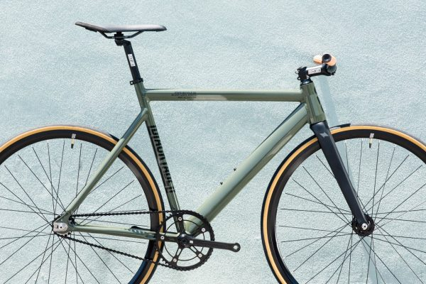 State Bicycle Co Fixed Gear Black Label v2 - Army Green-5942