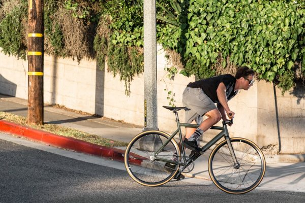 State Bicycle Co Fixed Gear Black Label v2 - Army Green-5945