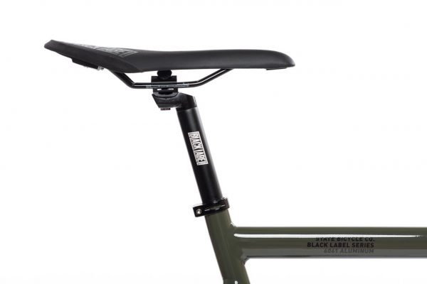 State Bicycle Co Fixed Gear Black Label v2 - Army Green-5938