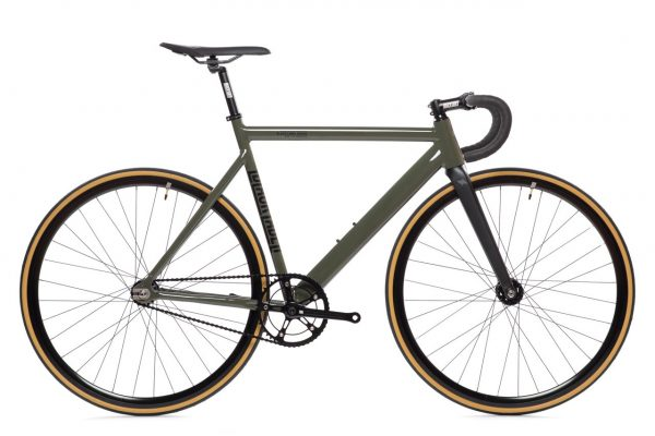 State Bicycle Co Fixed Gear Black Label v2 - Army Green-5939