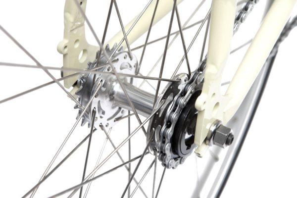 Finna Fixed Gear Bike Velodrome Vanilla Cream-3094