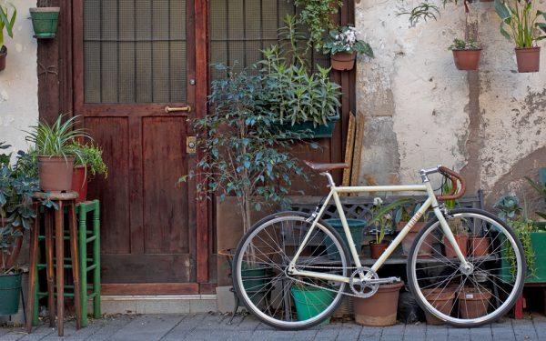 Finna Fixed Gear Bike Velodrome Vanilla Cream-3095