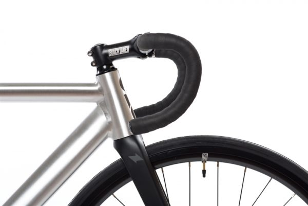 State Bicycle Co Fixed Gear Bike Black Label v2 - Raw Aluminum-6553