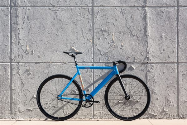 State Bicycle Co Black Label v2 Fixed Gear Bike - Typhoon Blue-6573