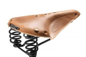 Brooks Flyer Select Saddle - Organic Leather-0