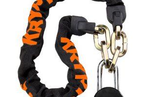 Kryptonite Messenger Chain Lock + Moly-0
