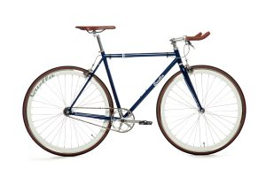 Quella Fixed Gear Bike Premium Varsity Collection - Oxford-0
