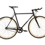 Quella Fixed Gear Bike Nero - Cream-0