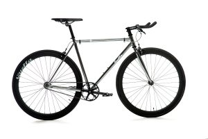 Quella Fixed Gear Bike Premium Varsity Collection - Imperial-0