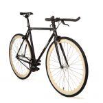Quella Fixed Gear Bike Nero – Cream-6994