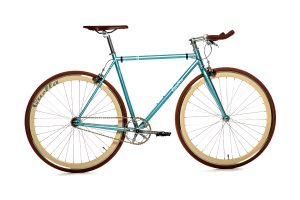Quella Fixed Gear Bike Premium Varsity Collection - Cambridge-0