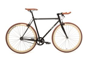 Quella Fixed Gear Bike Nero - Cappuccino-0