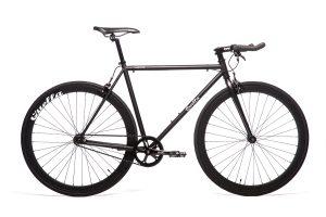 Quella Fixed Gear Bike Nero - Black-0