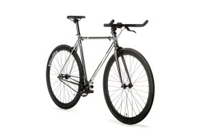Quella Fixed Gear Bike Premium Varsity Collection - Imperial-7034
