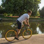 Quella Fixed Gear Bike Nero – Yellow-7009