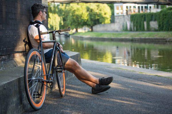 Quella Fixed Gear Bike Nero - Orange-6992