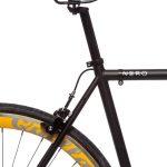 Quella Fixed Gear Bike Nero – Yellow-7003