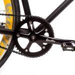 Quella Fixed Gear Bike Nero – Yellow-7004