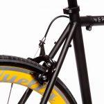 Quella Fixed Gear Bike Nero – Yellow-7006