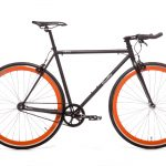 Quella Fixed Gear Bike Nero - Orange-0