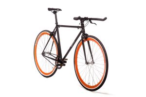 Quella Fixed Gear Bike Nero - Orange-6984