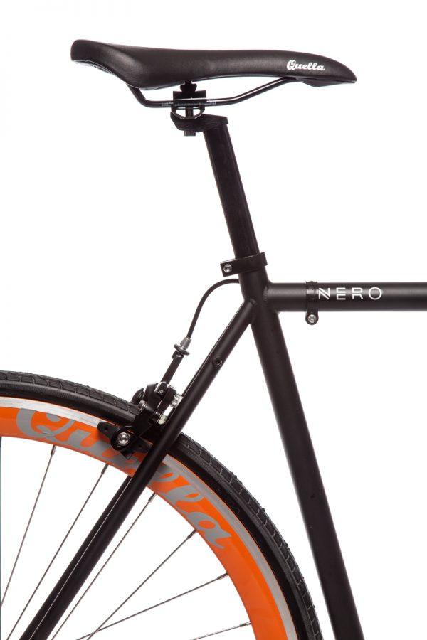 Quella Fixed Gear Bike Nero - Orange-6987