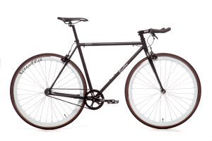 Quella Fixed Gear Bike Nero - White-0