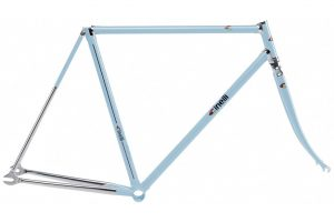 Cinelli 2018 Supercorsa Pista Frame Set Light Blue-0