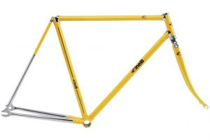 Cinelli 2018 Supercorsa Pista Frame Set Yellow-0