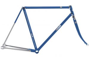 Cinelli 2018 Supercorsa Pista Frame Set Blue-0