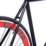 Quella Fixed Gear Bike Nero – Red-7020